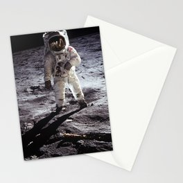Apollo 11 - Buzz Aldrin On The Moon Stationery Cards