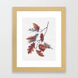 Autumn Study Framed Art Print