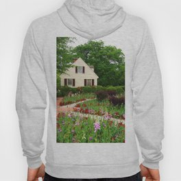 Cottage Garden - Colonial Williamsburg Hoody