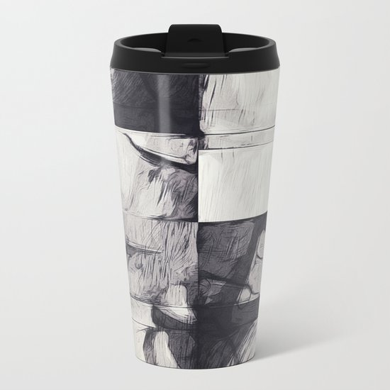 Made of Stone Metal Travel Mug