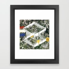 Stone Roses, I am the Resurrection - Soundwave Art Framed Art Print