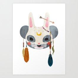 koala masquerade Art Print