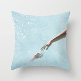 my soul will find yours Throw Pillow