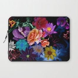 Colorful Fractal Flowers Laptop Sleeve