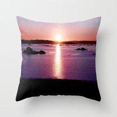 Galician Sunset Throw Pillow