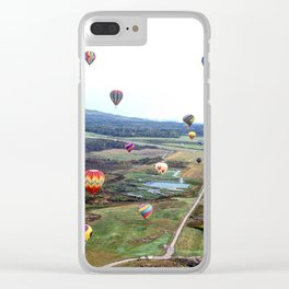 View from the top Clear iPhone Case