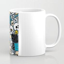 Skullz & Lulz Pattern Coffee Mug