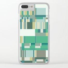 Debussy Little Shepherd (Greens) Clear iPhone Case