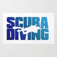 Scuba Diving Rug