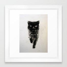 Old Girl Framed Art Print