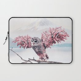 Sakura Owl Laptop Sleeve