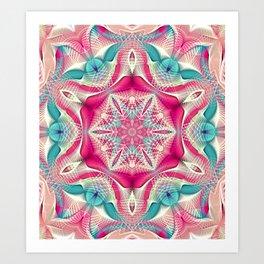 Flower Of Life Mandala (Sweet Geometry) Art Print
