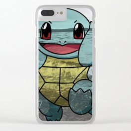 Squirtle Clear iPhone Case