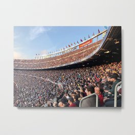 Barcelona Stadium Metal Print