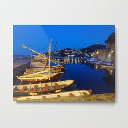 Night at Collioure Metal Print