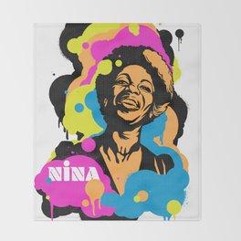 Soul Activism :: Nina Simone Throw Blanket