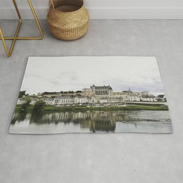 Amboise from the river Rug