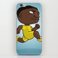 runner iPhone & iPod Skins featuring Runner by Jordygraph