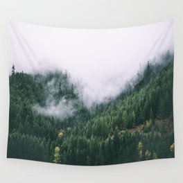 Forest Fog XVII Wall Tapestry