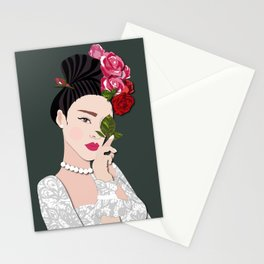 Milla Asian bride-2 Stationery Cards