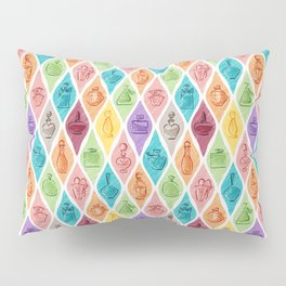 Rainbow Perfumes Pillow Sham