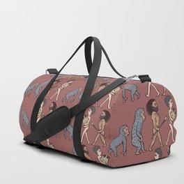 The Evolution Of Man Duffle Bag