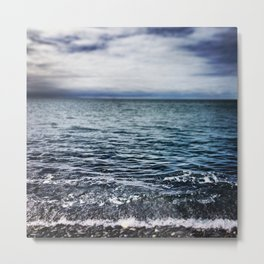 Waves IV Metal Print