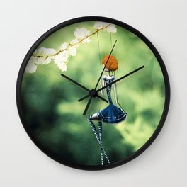 La Balançoire Wall Clock