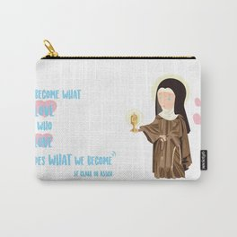 St.Clare of Assisi Carry-All Pouch