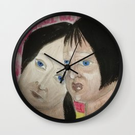 I don't want to be your enemy Wall Clock