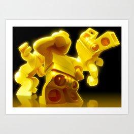 Yellow Butts Art Print