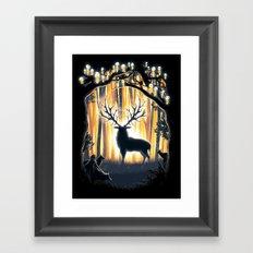 Master of the Forest Framed Art Print