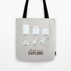 Let's go explore Tote Bag