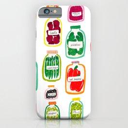 Jars of Fruit & Veg iPhone Case