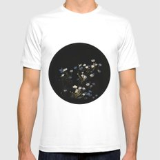Asters Mens Fitted Tee MEDIUM White