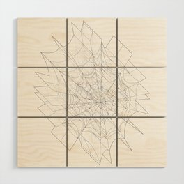 web of lies Wood Wall Art