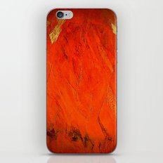 Rustic Orange Home Decor - Comforters - Tapestry - Pillows - Rugs - Shower Curtains iPhone & iPod Skin