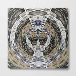Frame Oddity 3D Funnel Metal Print