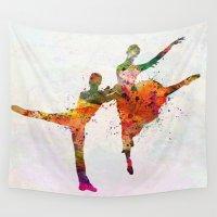 dancing Wall Tapestries featuring dancing queen by mark ashkenazi