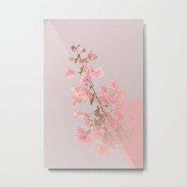 Painting Flowers Metal Print