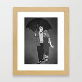 I wanna go outside Framed Art Print