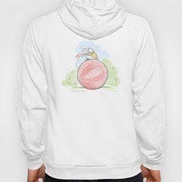 Bunny on a Ball Hoody