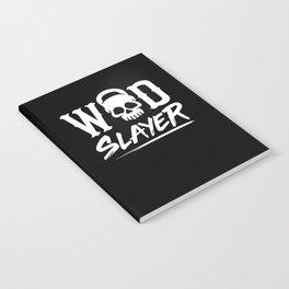 WOD Slay er Skull Notebook