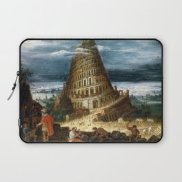 The Tower of Babel Laptop Sleeve