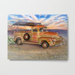 Jimmy's Truck Metal Print