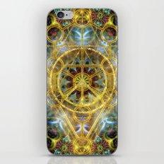 Sacred Geometry Fractal Mandala iPhone Skin