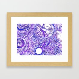 INNER WORLD - INTERNAL ENERGY Framed Art Print