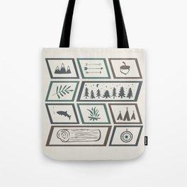 Camping [Color] Tote Bag