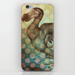 Dodo with Dots iPhone Skin