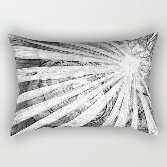 Whiteout Rectangular Pillow